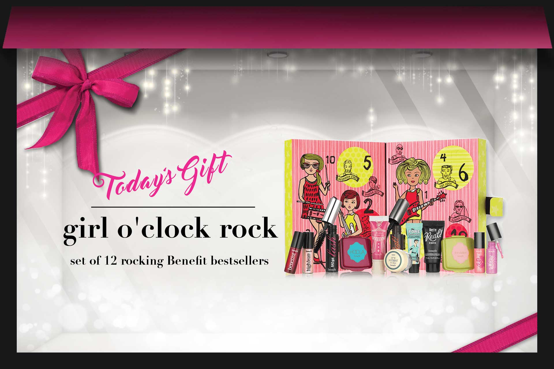 聖誕好禮:Benefit girl o'clock rock聖誕套裝